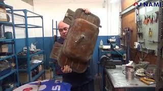 Tutorial: Plastificado de Tanque de Combustible