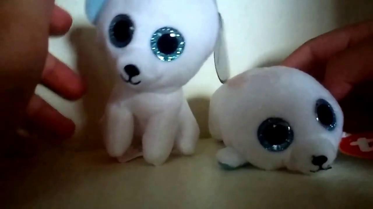 Fast Food Toy Review  McDonald s Teenie Beanie Boos- Timber 6d6a0f899d0