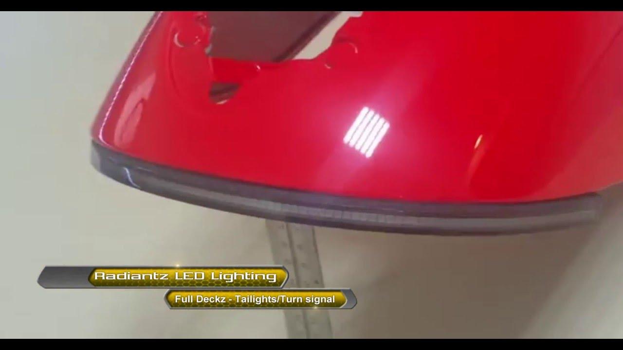 Radiantz Led Lighting Full Deckz Victory Vegas Taillight Turn Signals