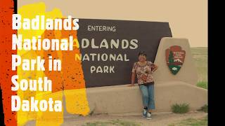 Badlands National Park South Dakota Tourist Attraction