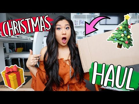 CHRISTMAS GIFT UNBOXING!! Vlogmas Day 5