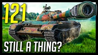 121 - Still a Thing vs Object 430U? - World of Tanks 121 Gameplay