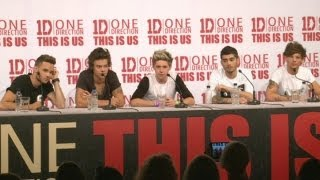 One Direction This Is Us press conference: Part 3