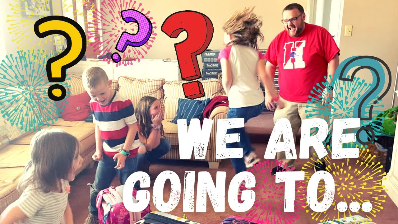 WE ARE GOING TO...   SCAVENGER HUNT