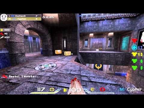 QuakeCon 2012 Grand Finals: Cypher vs DaHanG - QuakeLive Duel - 1080p Demos + [English Commentary]