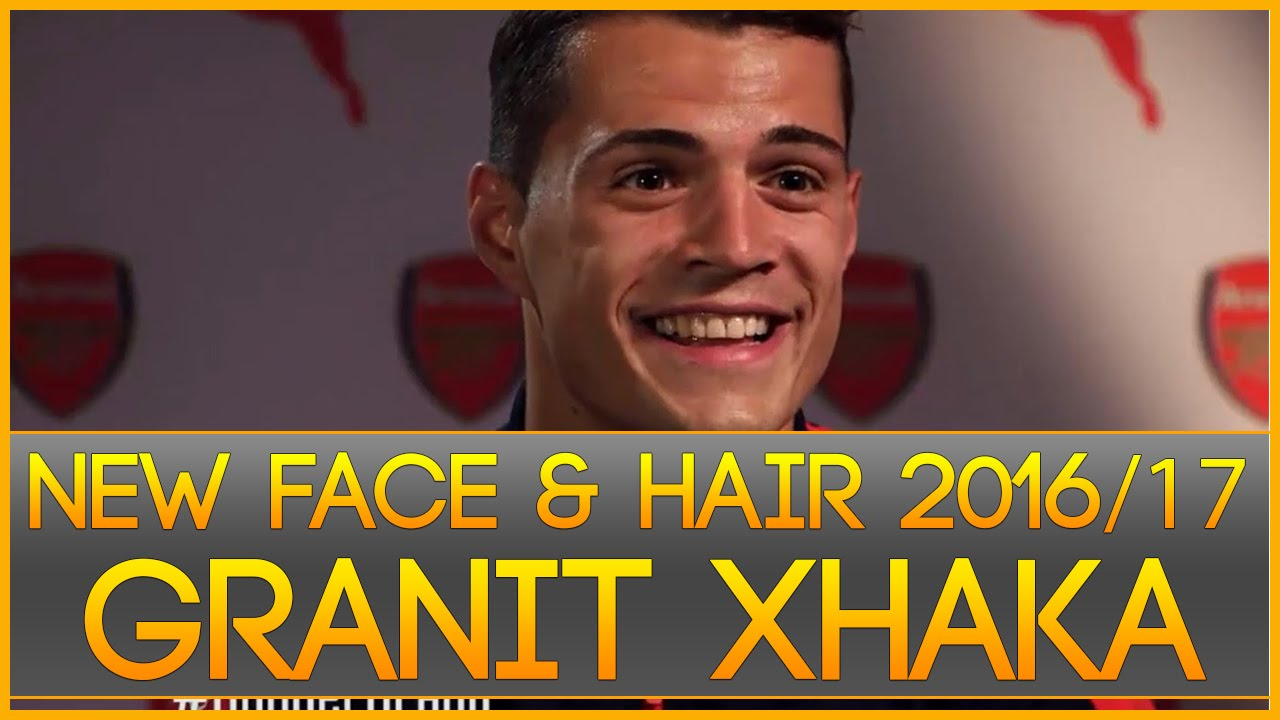 Pes 2013 Face Hair Granit Xhaka Welcome To Arsenal Youtube
