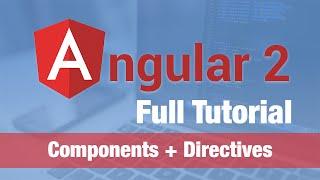 angular 2 tutorial 2016 components incl data binding two way binding