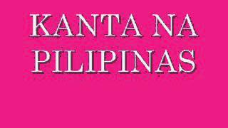 KANTA NA PILIPINAS