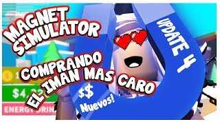 buy magnet more expensive Magnet Simulator | samymoro videos of roblox in Spanish