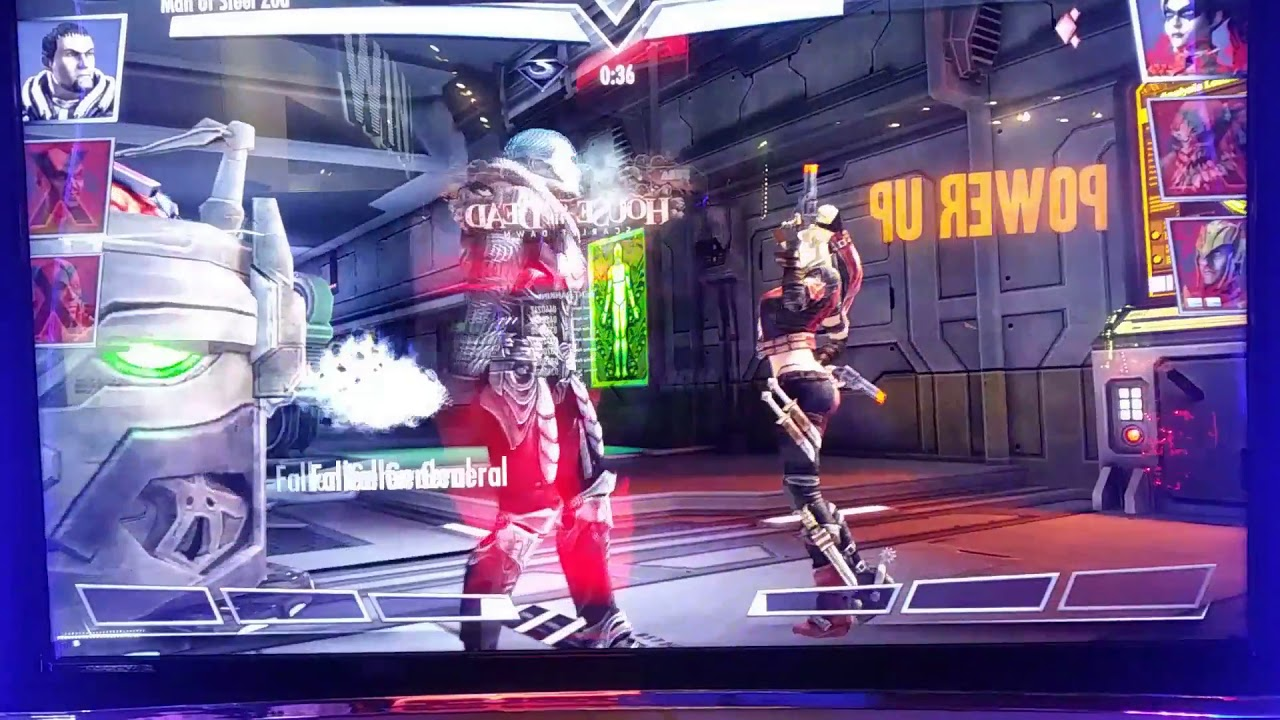 2019 Injustice Arcade Game Over 100 Specials Used Must See