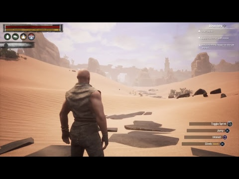 Conan Exiles - Ron the Ruthless is looking for a home.