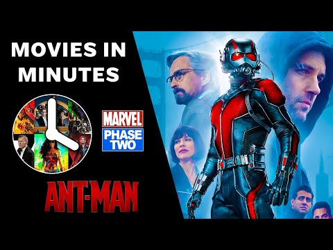 Ant-Man in 4 minutes - (Marvel Phase Two Recap) [ANT-MAN AND THE WASP PREP]