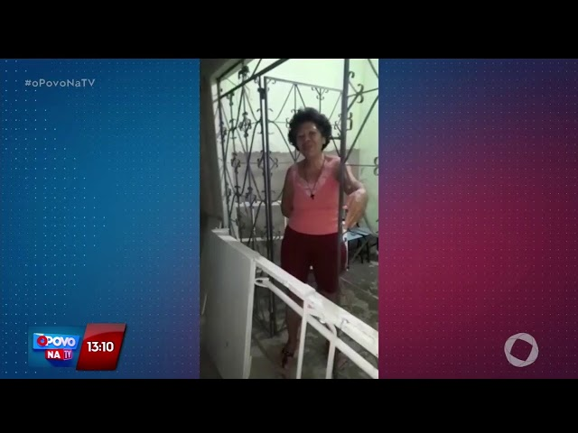 O Povo na TV - Dona de casa agradece cama hospitalar que ganhou de telespectadores