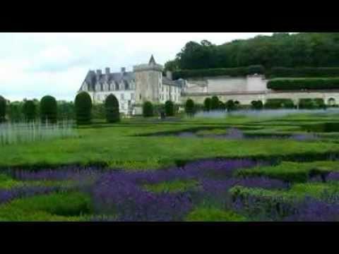 Patrimoine de France le chateau de Villandry ( Patrimony of France the castle of Villandry )
