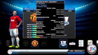 PES2013 Gameplay tool : extra kits selection