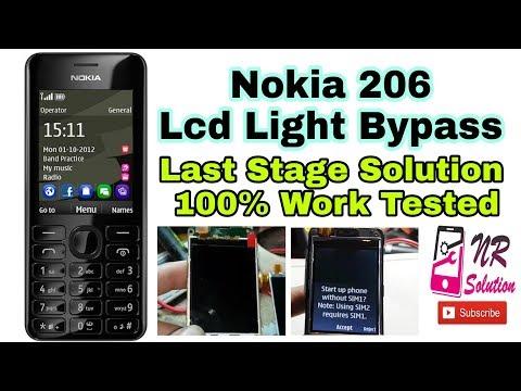 Nokia 206 Lcd Light New Method Bypass Solution