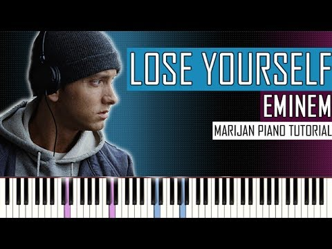 How To Play: Eminem - Lose Yourself | Piano Tutorial + Sheets