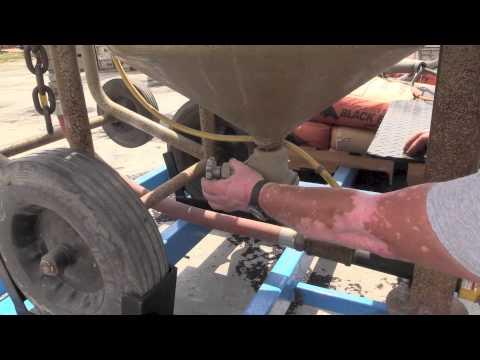 Sand Blast Operation