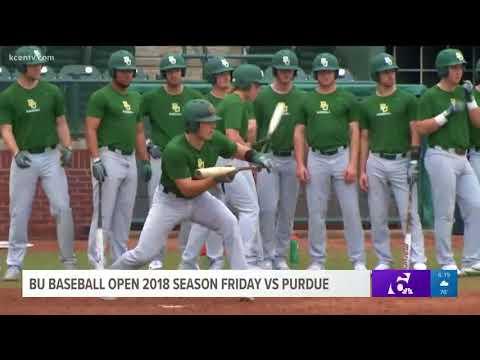 BU baseball open 2018 season Friday vs Purdue