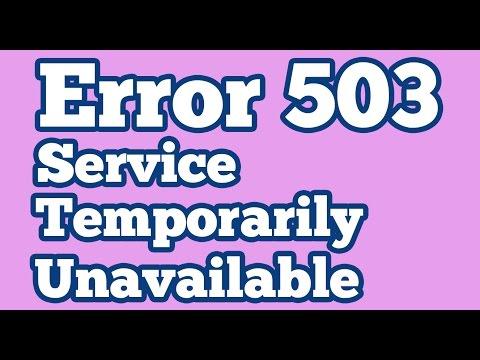 6 Fixes For Error 503 Backend Fetch Failed - The Error Code Pros