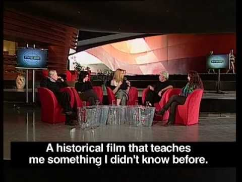Larry Price interviewed about The Rebbe & The German Officer, Creator's Meeting, IBA Channel 1.