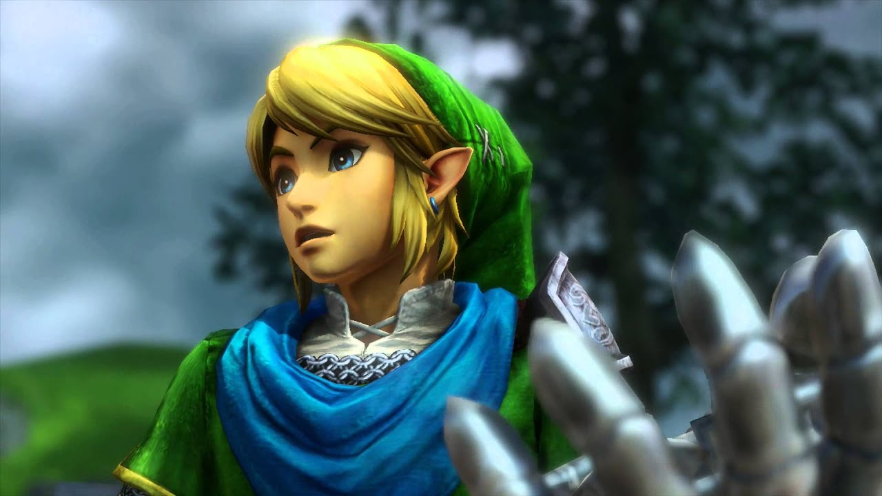 Link Gameplay All Weapons And Combos Hyrule Warriors Youtube