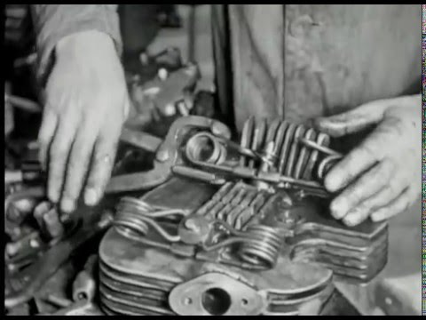 Norton prepare for the Isle of Man TT Races 1948 Video Thumbnail