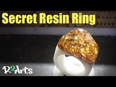 Making a resin ring/반지 만들기/레진링,우드링,시크릿우드/레진공예,레진아트