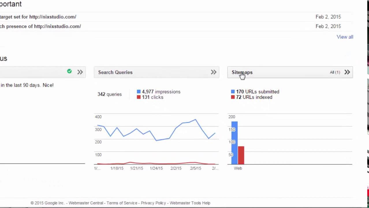 how to index a new wordpress website get discovered by google