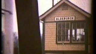1957 Saxmundham to Aldeburgh Railway line, with Flanders & Swann, the slow train