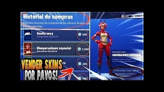 How to Sell your friend Skins Peaks or Gesture you don't like in Fortnite
