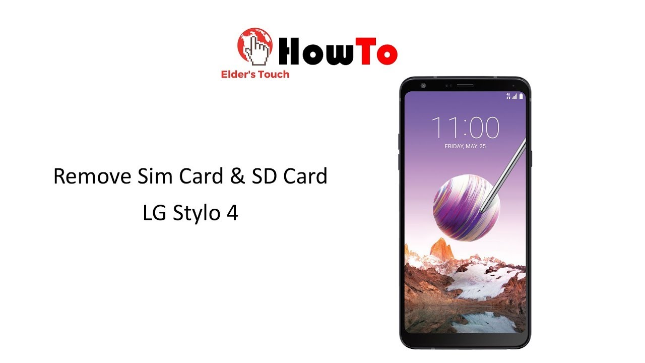 #HowTo - Remove Stylo 4 SIM Card / SD Card