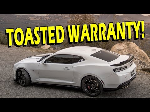 Doing anything to your 2016/2017 Camaro will void your warranty - Drive with Lethal #19