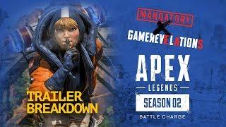 Apex Legends Season 2 – Battle Charge Launch Trailer Breakdown | GameRevelations
