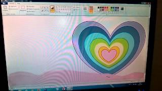 Учимся рисовать на компьютере радугу из сердечек(, 2015-02-08T15:40:02.000Z)