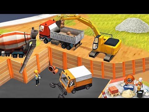 Little Builders Cranes, - Fun Construction Games