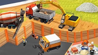 Little Builders Kids Games - Digger, Trucks, Cranes, - Fun Construction Games for Children