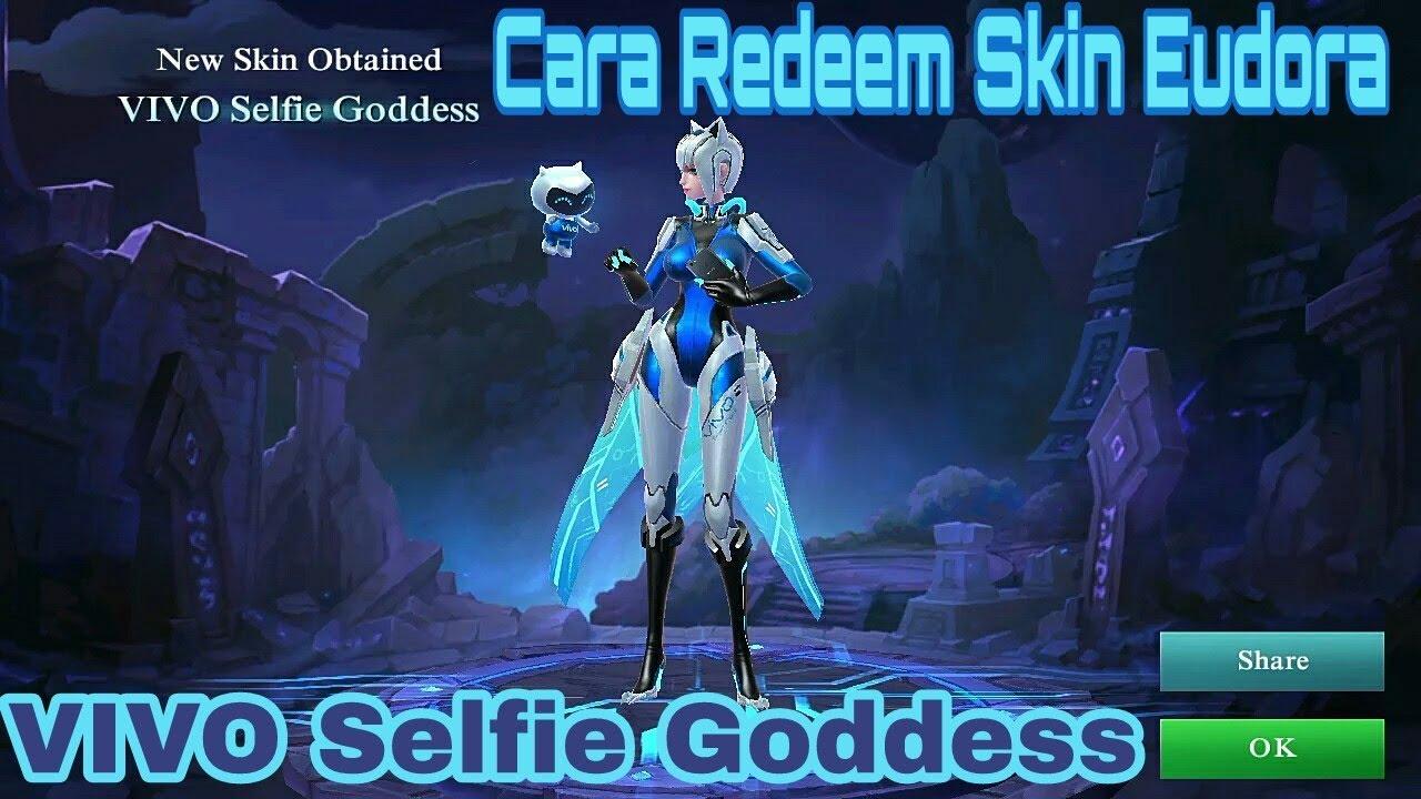 Mobile Legends - Cara Redeem Skin Eudora Selfie Goddness - clipzui com
