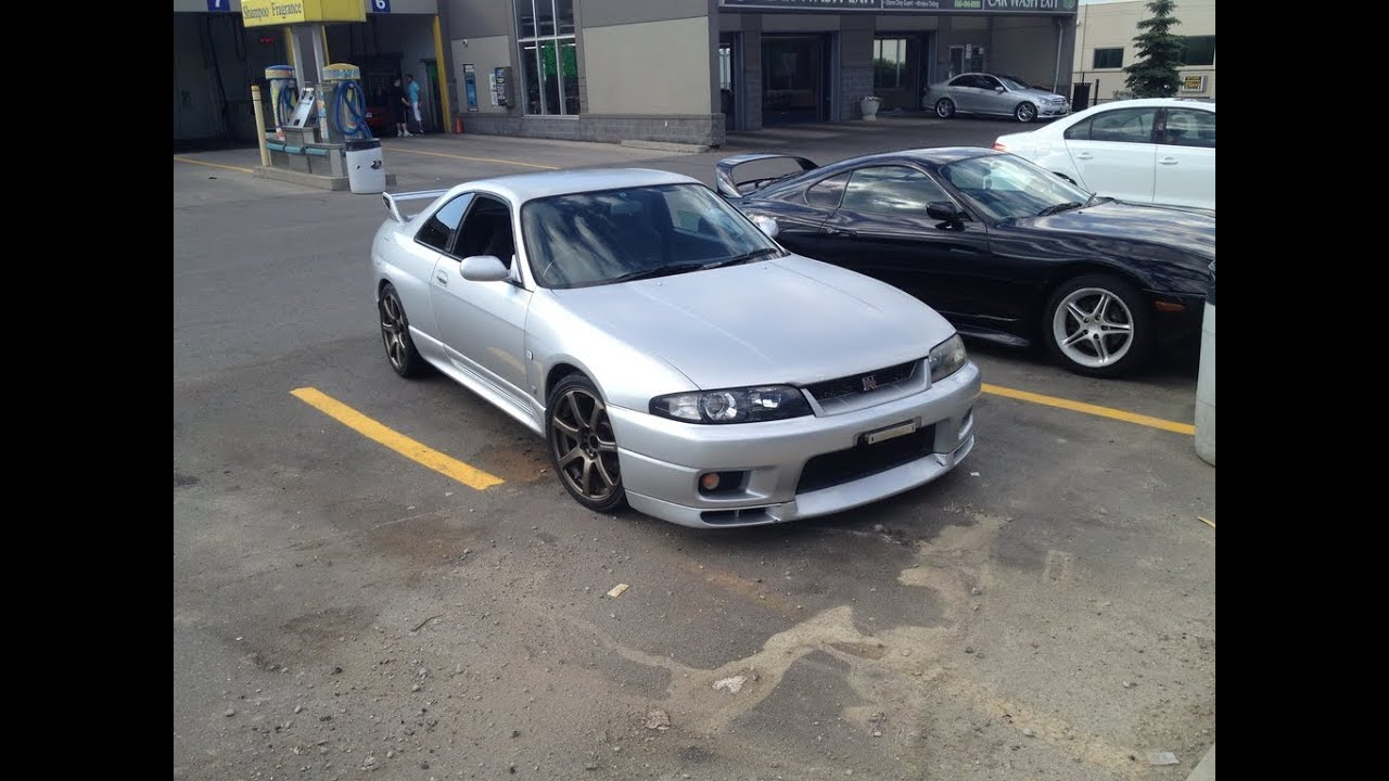 jdm nissan skyline r33 gtr rb26dett bcnr33 in canada doovi. Black Bedroom Furniture Sets. Home Design Ideas