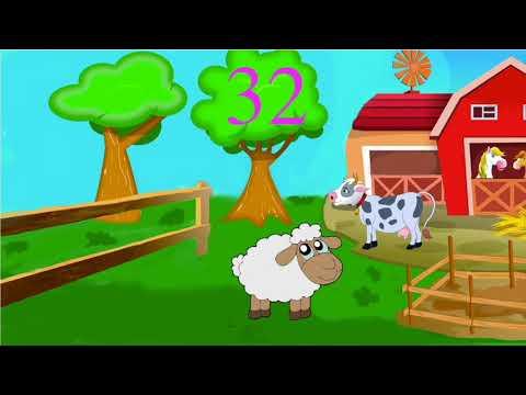 Мультик для крепких снов, считаем овец, учимся считать