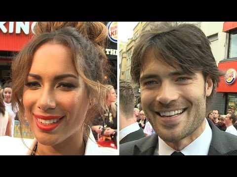 Walking On Sunshine Premiere Interviews - Leona Lewis, Giulio Berruti, Hannah Arterton