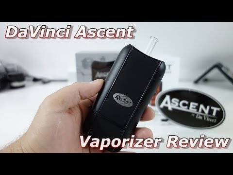 DaVinci Ascent Vaporizer Review (Latest model)