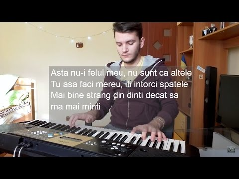 Lidia Buble - Mi-e bine | Piano | Karaoke