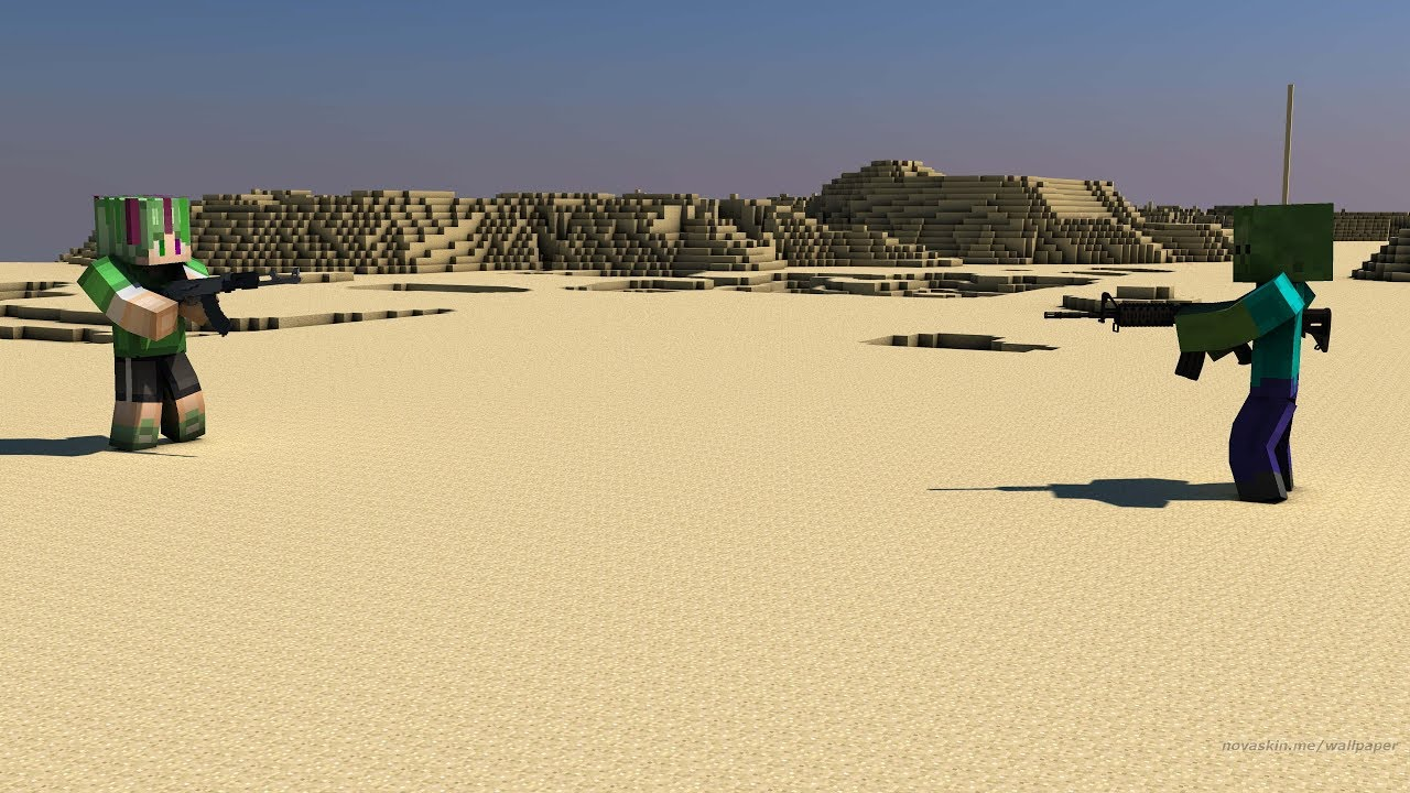 КОНТР СТРАЙК ЗОМБИ В МАЙНКРАФТЕ?!(Сountre Strike Zombie Minecraft)
