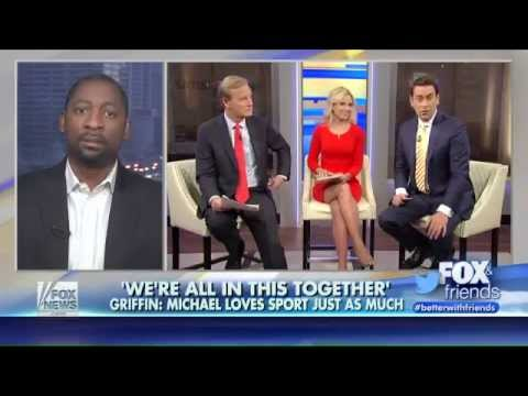 Adrian Griffin on Fox and Friends, Talking Michael Kelley at Wichita East High