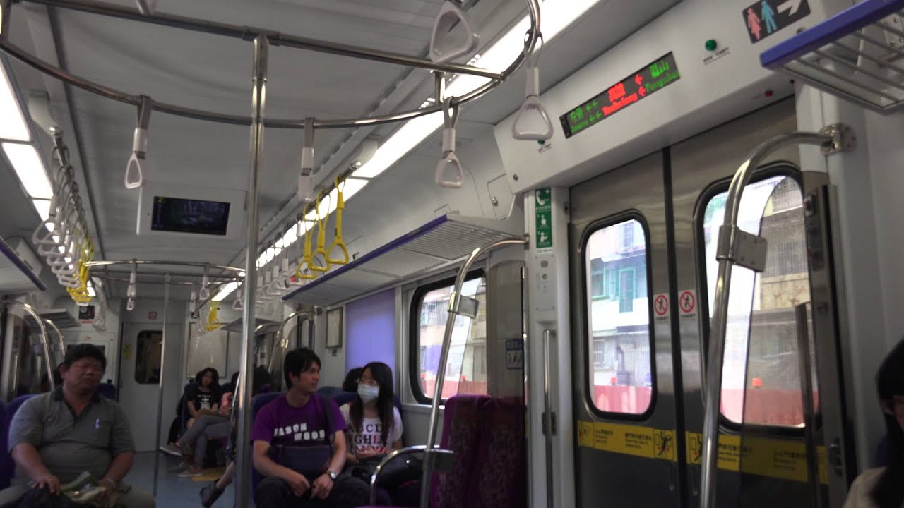臺鐵 EMU800 通勤電聯車 車廂內景 - YouTube