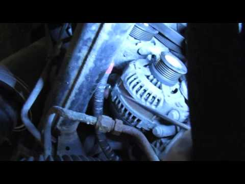 Alternator Replacement On Range Rover Sport Supercharged Or LR3