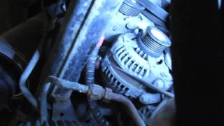Alternator Replacement On Range Rover Sport Supercharged Or LR3 video screen shot