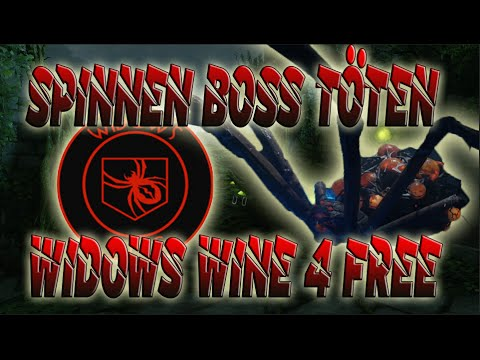 spinnen boss t ten widows wine bekommen zetsubou no shima youtube. Black Bedroom Furniture Sets. Home Design Ideas