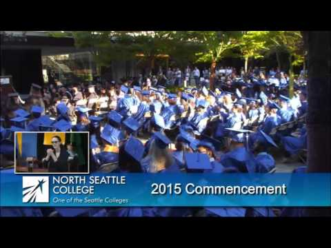 North Seattle College Commencement 2015